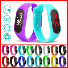 Child Watches New LED Digital Wrist Watch Bracelet