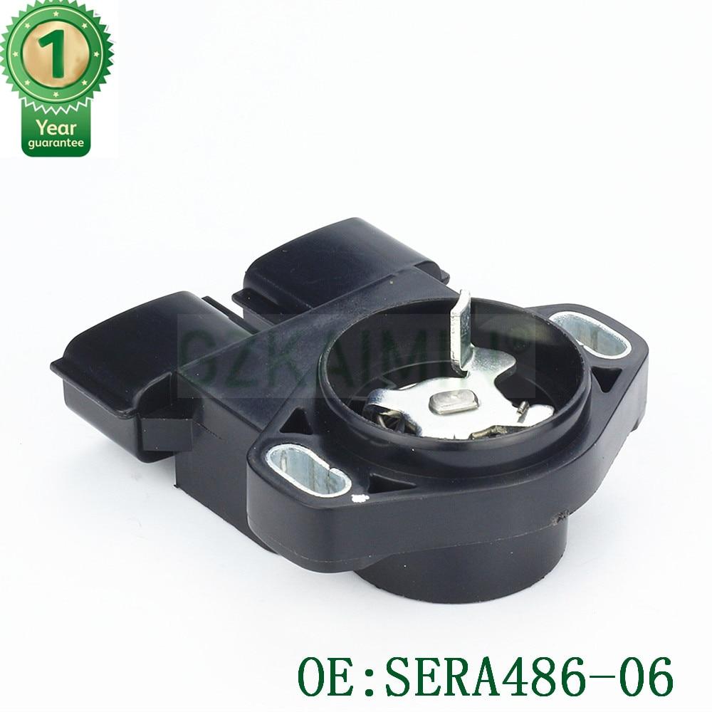 Высокое качество Новый OEM SERA486 06 автозапчасти TPS Датчик положения дроссельной заслонки для Nissan для Infiniti для Mercury 1994 2005 датчик TPS
