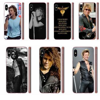 Hot Band Bon Jovi Jon Soft Wholesale For Galaxy Note 10 A10E A10S A20S A30S A40S A50S A6S A70S A730 A8S M10S M30S Lite Plus