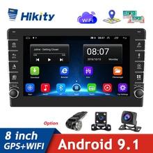 "Hikity Android Car Radio 2 Din 8"" Multimedia Player GPS WIFI Bluetooth Player for Toyota Volkswagen Hyundai Kia Renault Suzuki"