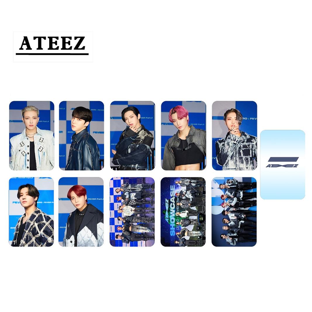 10pcs/set ATEEZ Photocard New album ZERO FEVER Part2 Series (Double Side) 7