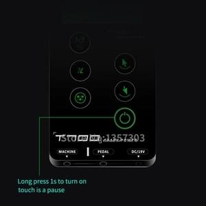 Image 4 - Alimentation électrique pour machine à tatouer, écran tactile, écran tactile, écran tactile, écran tactile LCD, T700