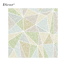 45/90x200CM DICOR Terrazzo Geometric Glass Sticker Modern Fashion Window Film For Home Decor BLT2168KJ