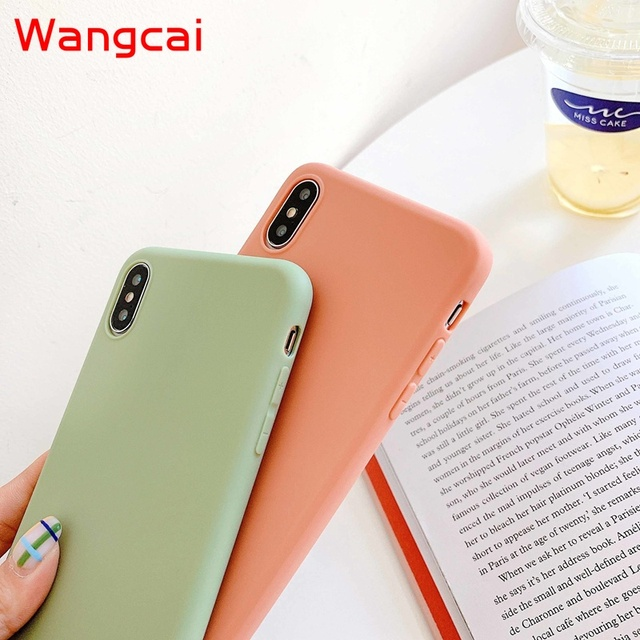 candy color silicone phone case for huawei p40 pro plus p30 lite pro p20 lite p10 p smart plus z 2019 2018 case matte tpu cover 5