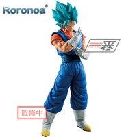 RORONOA Original Banpresto ICHIBANSHO FIGURE Dragon Ball Super Saiyan God Vegetto Action Figures Collectible Model Toys Figurals
