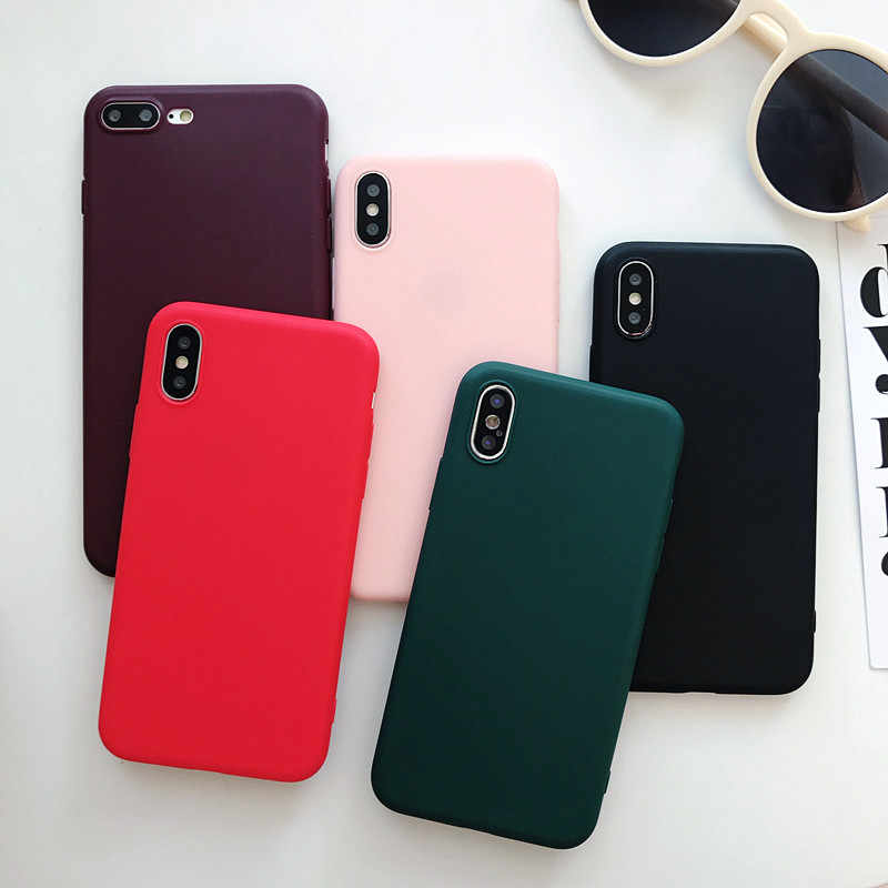 For Samsung Galaxy A50 Case Candy Color Silicone Soft TPU Cover Phone Case For Samsung A20 A30 A10 A 50 2019 A505 A505F SM-A505F