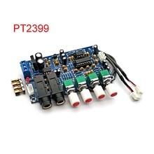 PT2399 디지털 마이크 앰프 보드 가라오케 잔향 보드 가라오케 OK 앰프 모듈 듀얼 AC12V