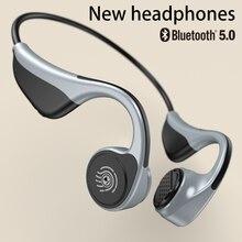 Für Xiaomi Huawei Drahtlose Kopfhörer Knochen Leitung Bluetooth 5,0 Kopfhörer Sport Stereo Lange Standby Wasserdicht Headsets