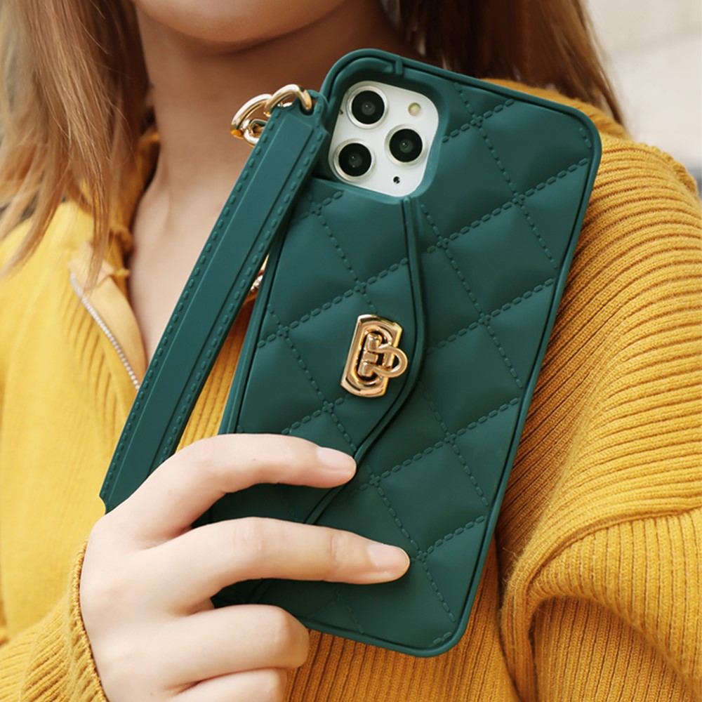 Lyxigt märke Plånbokskortsväska Bärbar handväska mjuk - Reservdelar och tillbehör för mobiltelefoner - Foto 1