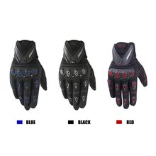 2019 Autumn Authentic scoyco MC 10 full finger motorcycle gloves motorbike Electric bicycle gloves(China)