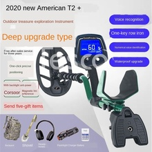 Metal detector American T2 gold silver copper outdoor archaeological treasure hunter high precision