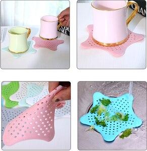 Strainer Sink Catcher Kitchen-Accessories Anti-Blocking Bathroom Floor FILTER-HAIR-STOPPER