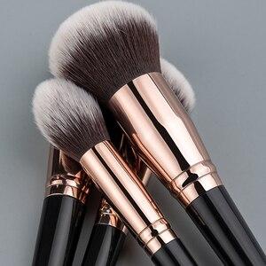 Image 4 - Anmor Make Up Kwasten Professionele Make Up Borstel 1 Pcs Foundation Poeder Concealer Contour Blush Borstel Zachte Haar Cosmetische Tool