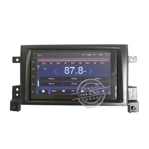 Image 2 - אנדרואיד 9.0 2 דין רכב רדיו סטריאו לרכב עבור סוזוקי גרנד Vitara Nomade 2005 2011 autoradio רכב אודיו 2G + 32G 4G אינטרנט