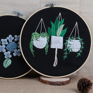 Circle Embroidery Kits ,Embroi