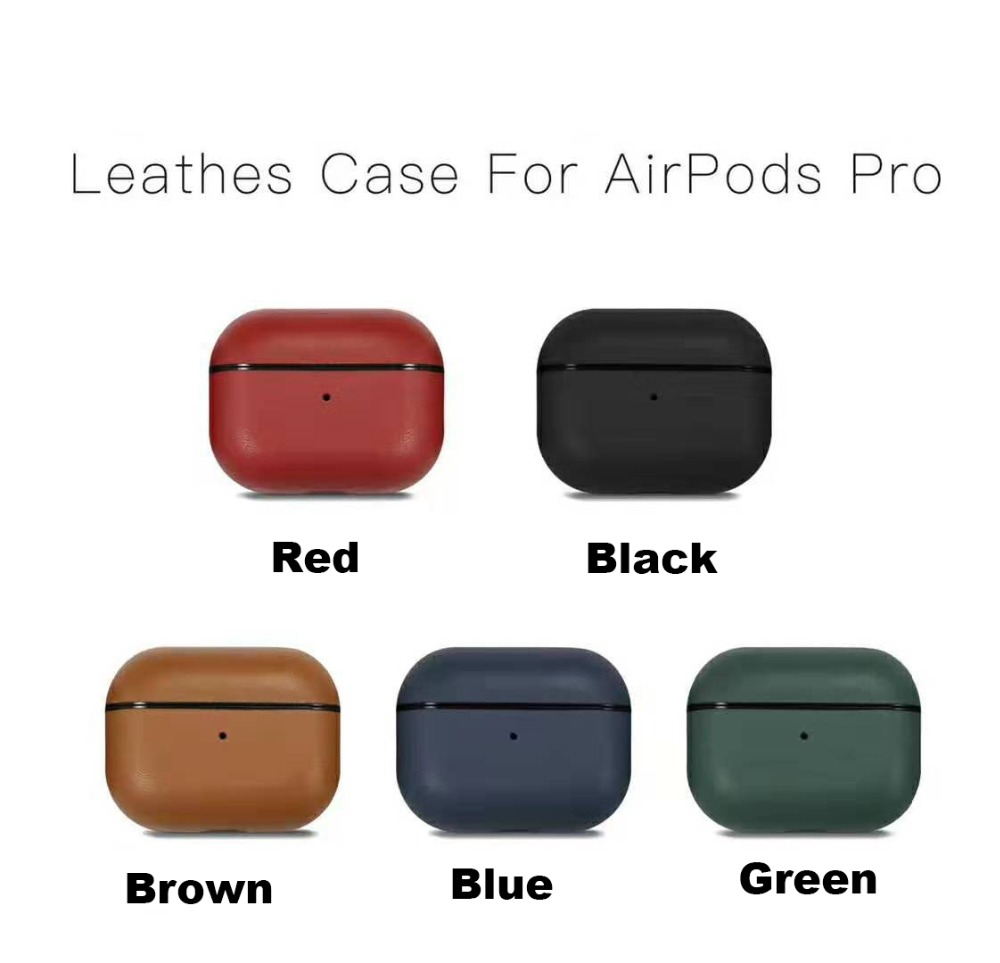 Genuine Leather Case for AirPods Pro 22