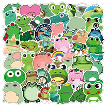 Frog Trunk-Guitar-Sticker Decoration Car-Helmet Graffiti Motorcycle-Phone Green-Series
