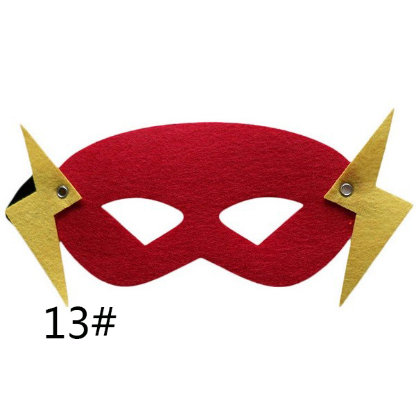 Superhero mask Cosplay Superman Batman Spiderman Hulk Thor IronMan Princess Halloween Christmas kids adult Party Costumes Masks 3