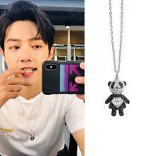 Xiaozhan نفس قلادة الباندا قلادة الكورية شخصية وجذابة للنساء brincos مجوهرات الأزياء قلادة mujer