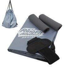 2020 새로운 조정 가능한 탄성 다리 스트랩 스포츠 밴드 링 콘 그립 스토리지 가방 닌텐도 스위치 조이 콘 링 맞는 모험 게임