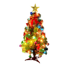 Christmas Decoration Gift 3045 60cm Mini Tree Party, Childrens Office Family Scene Arrangement