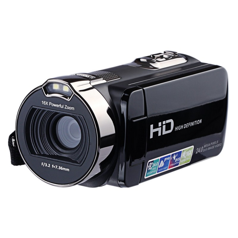 "Image 3 - HD Digital Camera Professional 16X Zoom  Digital Video Camera Camcorder Photo DSLR Camera DV 3.0"" LCD Touch Screen with Remote-in Point & Shoot Cameras from Consumer Electronics"