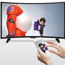60 ''дюймовый android Смарт wifi ТВ изогнутый экран ТВ Dolby DVB-T2 S2 led Телевизор