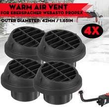 4x42mm carro aquecedor duto saída de ventilação ar diesel estacionamento calefator duto tubo escape conector para webasto eberspicher