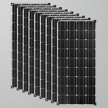 Солнечная панель 1000 Вт 12 В зарядное устройство для аккумуляторов