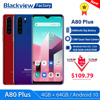 Blackview A80 Plus Smartphone Quad Rear Camera Mobile Phone 4680mAh 6.49'' HD+ 4GB+64GB Octa Core Android 10 NFC 4G Cellphone 1