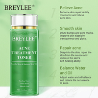 BREYLEE Acne Treatment Toner Pimple Remove Facial Serum Oil Control Moisturizing Whitening Gentle Soothing Dry Skin Care 100ml 2