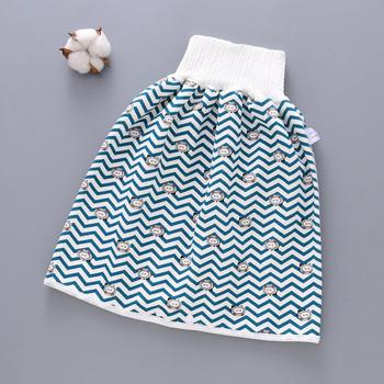 Wygodne spodenki na pieluchy dla dzieci 2 w 1 wodoodporne szczelne zmywalne spodnie dla dzieci Kid Diaper spódnica H7JP tanie i dobre opinie Swokii Pasuje prawda na wymiar weź swój normalny rozmiar Bayer Wodoodporna Kids COTTON