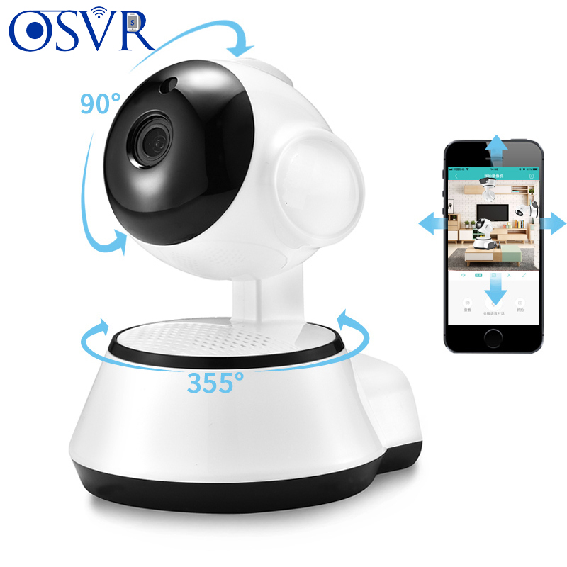 HD Mini CCTV Camera 700P IP Camera Home Security Wireless Smart WiFi Camera WI-FI Audio Record Surveillance Baby Monitor