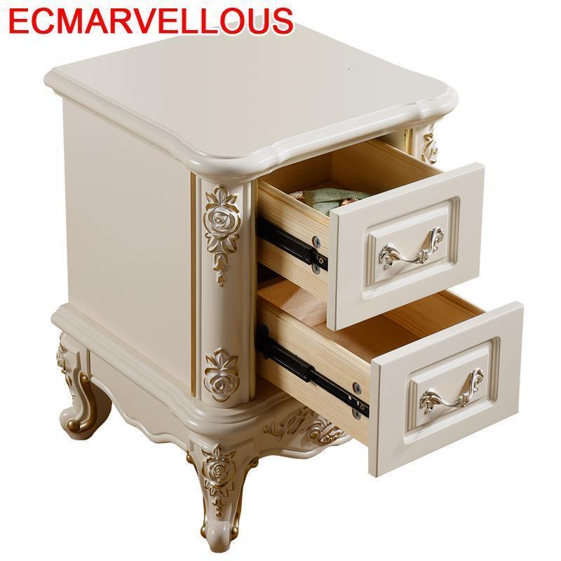 Yatak Odasi Mobilya Armarios Recamaras European Wooden Quarto Mueble De Dormitorio Cabinet Bedroom Furniture Bedside Table