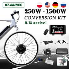 ebike Kit 36V 500W 48V 1500W 1000W 750W Front Rear e-bike e Bike Wheel Hub Motor Electric Bicycle Bike Conversion Kit