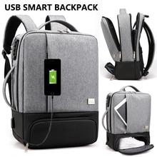 Mens Smart Anti theft Laptop Backpack Usb Charging Port Business Unisex Travel College School Bag