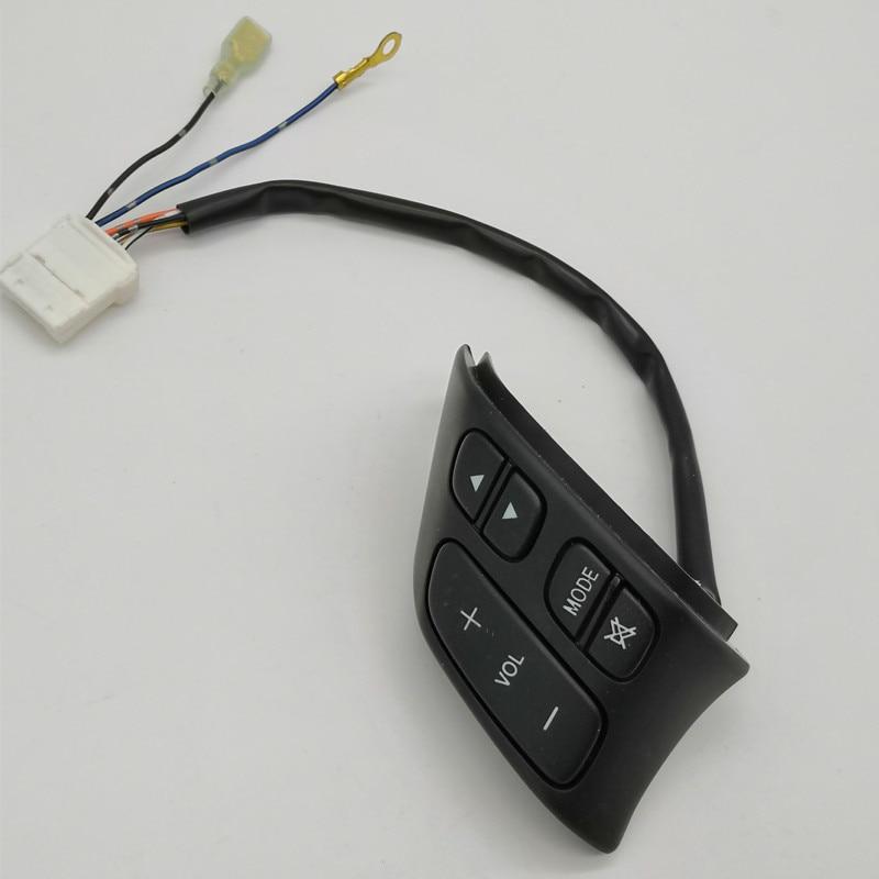 Кнопка управления рулевым колесом для Mazda 3/5, звуковой регулятор громкости, BP4K-66-4M0A C235-66-4M0