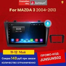 Junsun V1 2G + 32G Android 10.0 DSP Radio Multimedia Video Player Per Mazda 3 bk 2004-2013 di Navigazione GPS 2 din DVD
