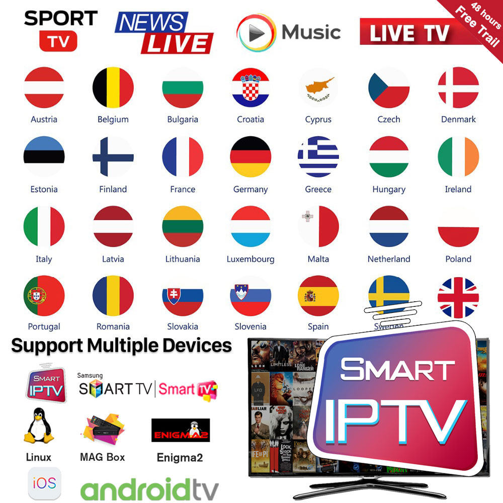 Iptv Greek Subscription 320+Greece HD Live Channels Adult Xxx France Spain Ex Yu Israel Iptv M3u Smart Android Tv Box Mag Enigma