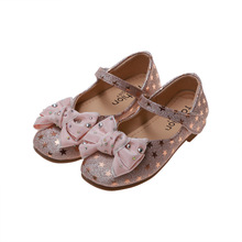 COZULMA Children Shoes for Girls Princess Dress Shoes Girls Mary Jane Party Shoes Kids Soft Bottom Leather Party shoes for Girls