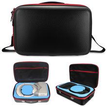 Waterproof Portable Safety PU Hardshell Hand Bag Goggles VR Glasses Suitcase Box Backpack Case For DJI Spark Goggles FPV VR(China)
