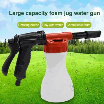 800ml myjnia samochodowa pianka śnieżna pistolet spryskiwacz butelkowy mydło atomizer na szampon do węża ogrodowego okno mydło czyszczenie mycie tanie i dobre opinie CN (pochodzenie)