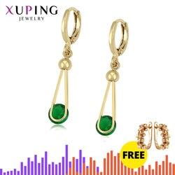 Xuping модные темпераментные серьги для женщин круглой формы ювелирные изделия прекрасные серьги на день рождения простые подарки S201.8-98226
