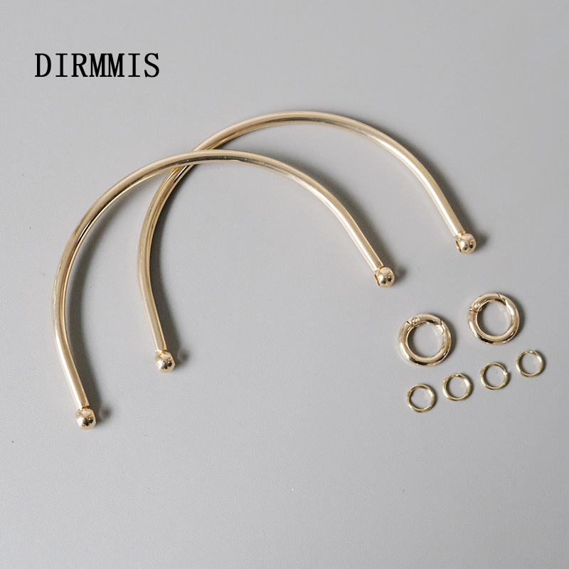 New Fashion Woman Bag Hardware Part Accessory Detachable Replacement Chain Gold Metal Luxury Women Shoulder Clutch Handle Chain