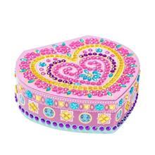 DIY алмаз особенной формы живопись бижутерия в форме сердца коробка для хранения подарки женщины клатч сумка для хранения Рождественский подарок для девочек