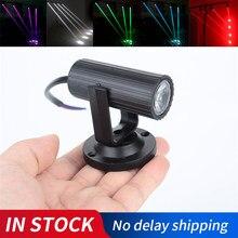 1 w rgbw led iluminação de palco pinspot feixe spotlight profissional dj disco party ktv luz de palco backlight