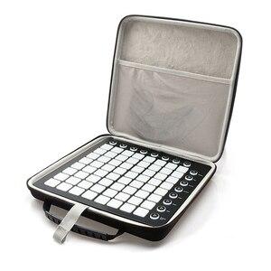 Image 3 - EVA Shockproof Portable Case for Novation Launchpad Ableton Live Controller Travel Carrying Case Storage Bag Handbag
