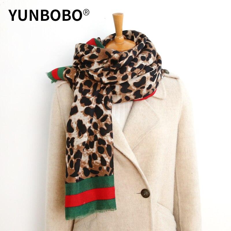 Luxury Brand Female Cotton Long Scarf Leopard Chain Thin Veil Of Soft Spring Summer Lady Shawls Autumn Shawl
