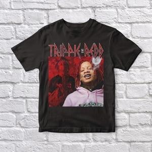 Trippie Redd 90 Vintage Unisex Black Tshirt