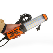 Repair Light 60 Led Portable Work Light Magnetic Emergency Led Flashlight 220V Portable Tor